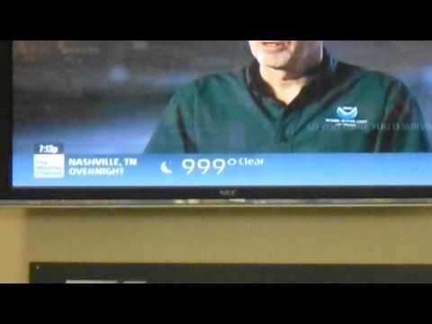 Weather Channel: 999 F in Nashville!
