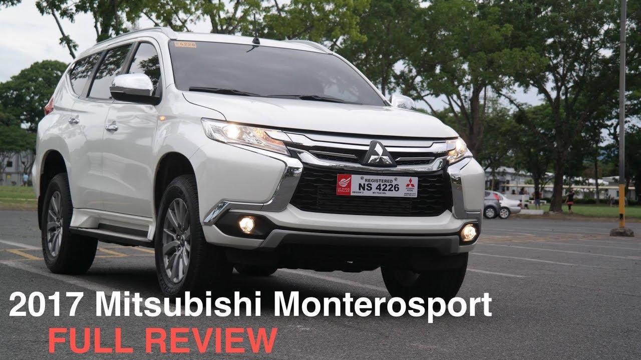 2017 Mitsubishi Montero Sport Gls 2 4 8spd A T Full Review