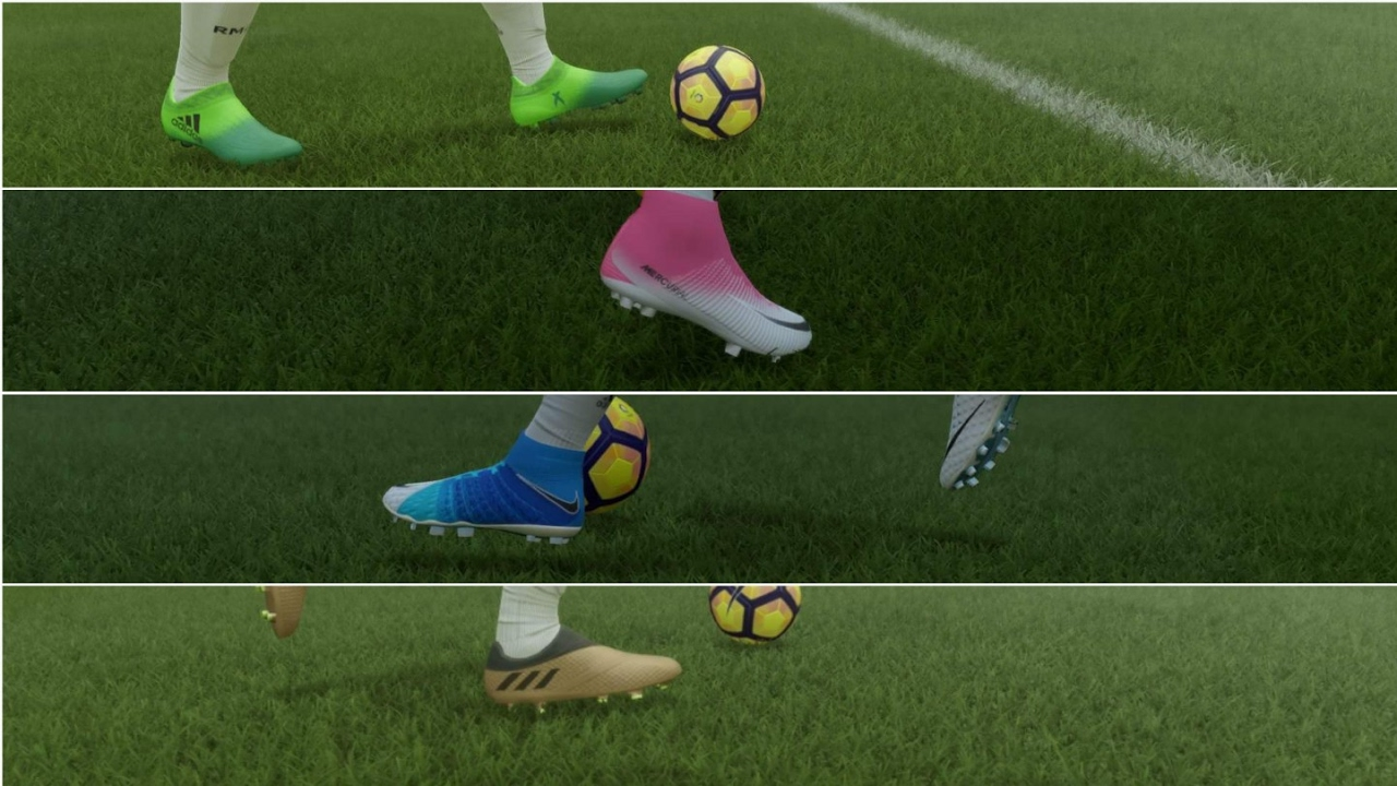 cc35ef4f0 NEW NIKE AND ADIDAS BOOTS FIFA 17 PS4 HD GAMEPLAY - YouTube