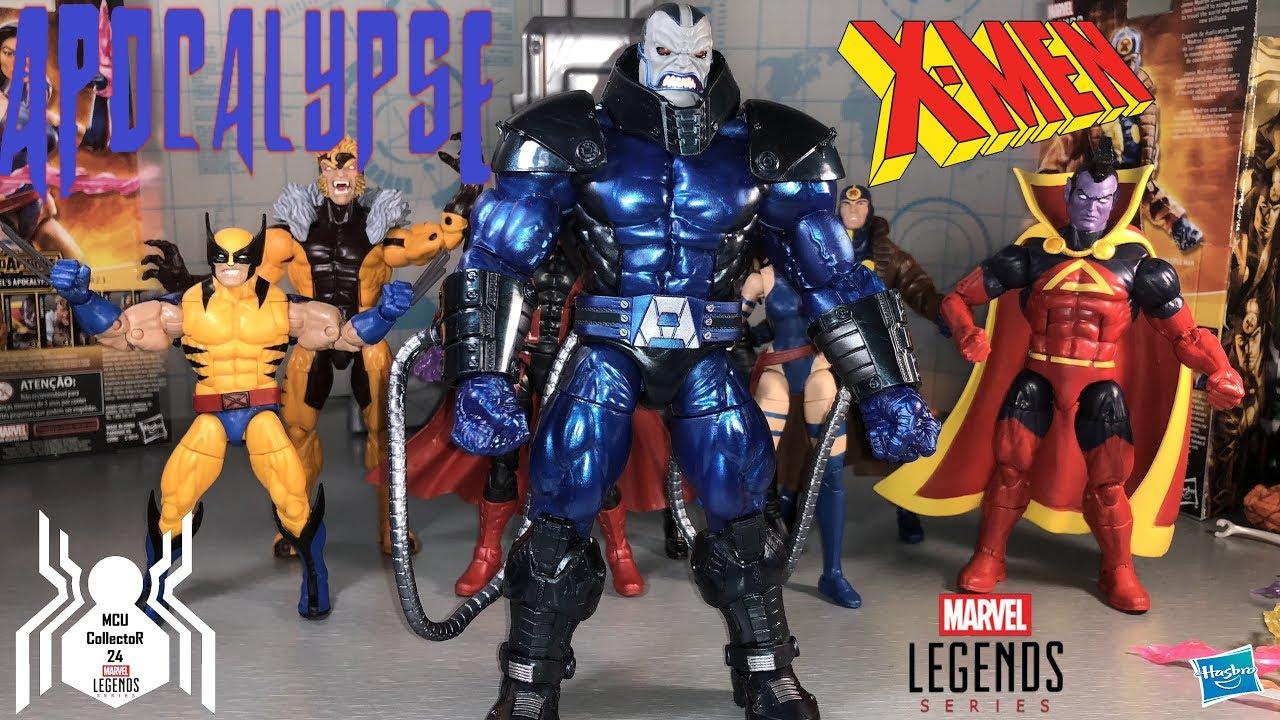 BAF Marvel Legends Wolverine from X-Men Apocalypse Build a Figure Wave Hasbro
