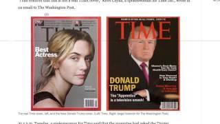 Трампа нашли на фальшивой обложке Time