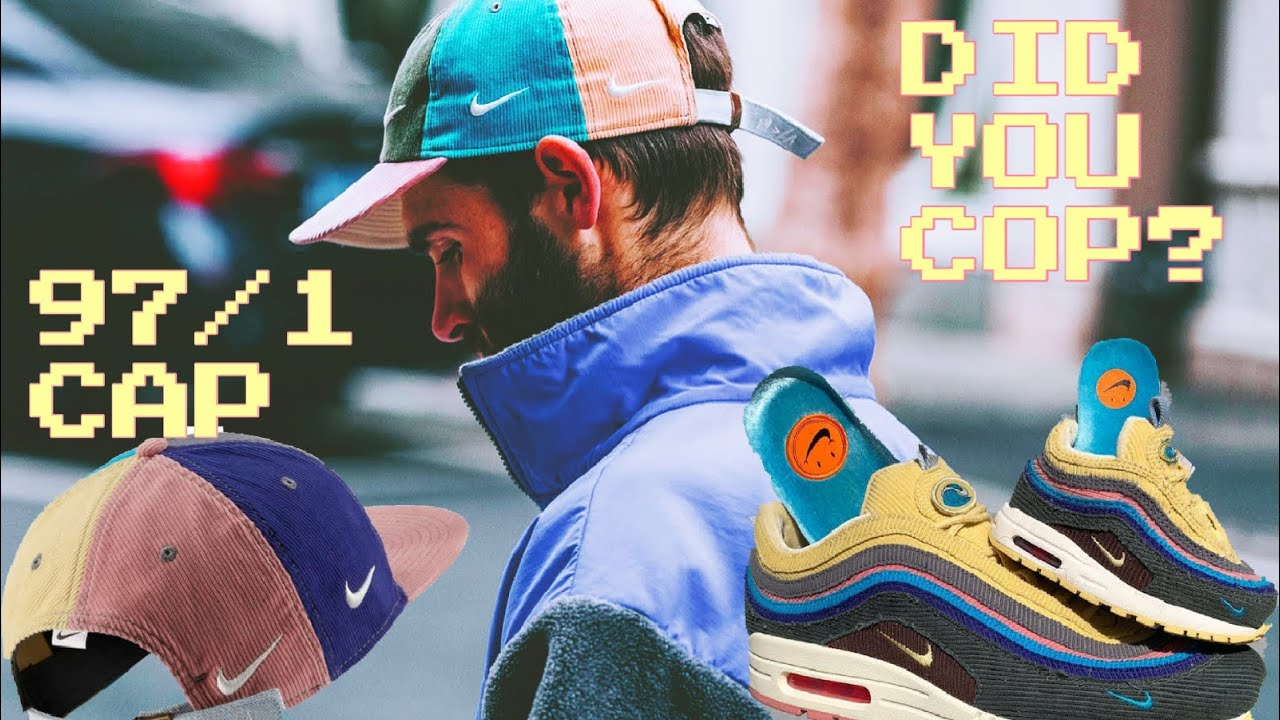 5c3146dc92 I COPPED ?!? SEAN WOTHERSPOON AIR MAX 97/1 HAT!!! - YouTube