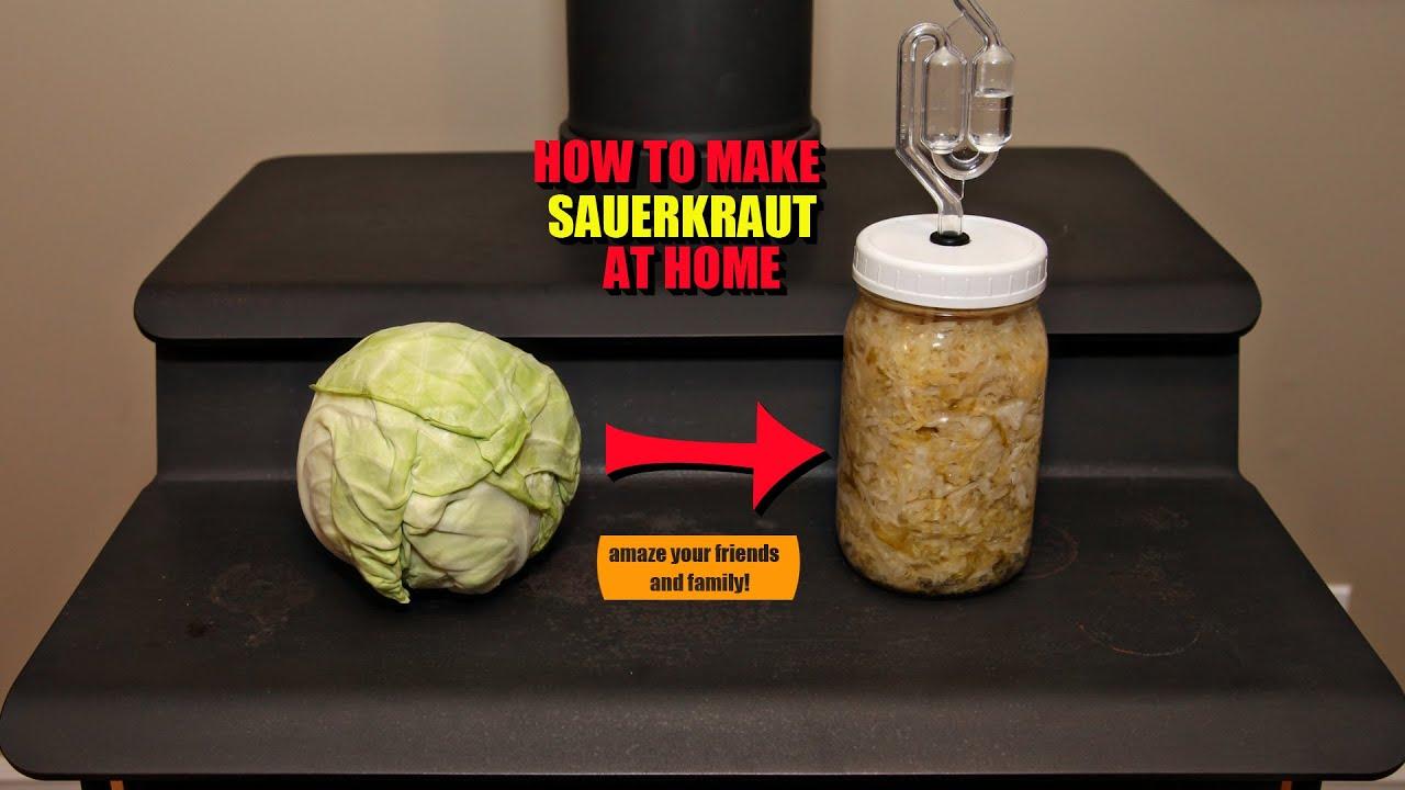 How to make sauerkraut at home 2