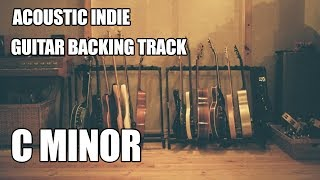 Acoustic Indie Guitar Backing Track In C Minor