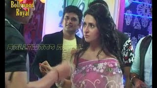 On Location of TV Serial 'Yeh Hai Mohabattein' Ishita is trapped in the party Part 4