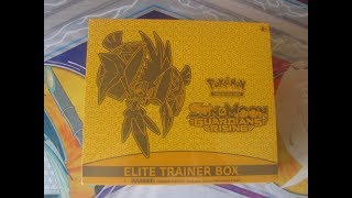 Pokemon Elite trainer box opening 2# guardians rising