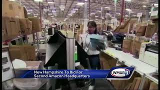 New Hampshire to bid for second Amazon headquarters