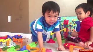 Marble Race or Marble Maze or Marble Run Baa Baa Black Sheep Nursery Rhymes songs for children