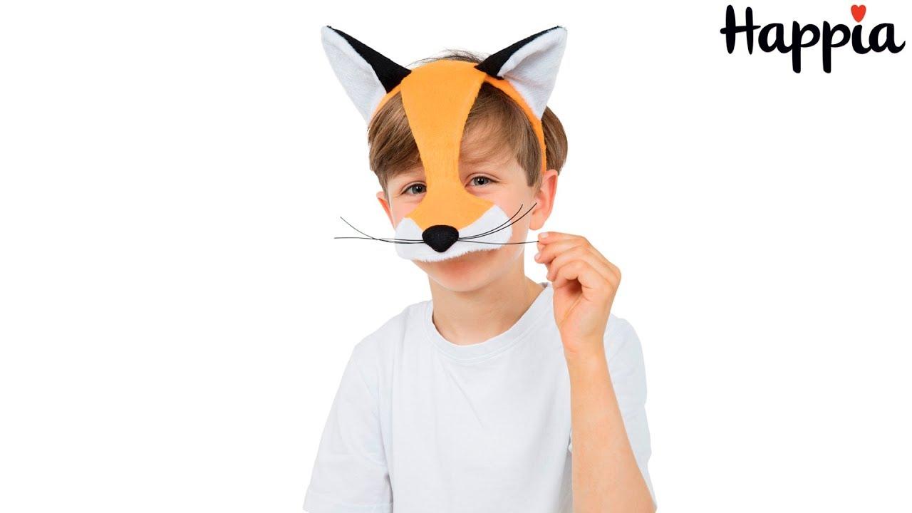 Маска для лисы своими руками