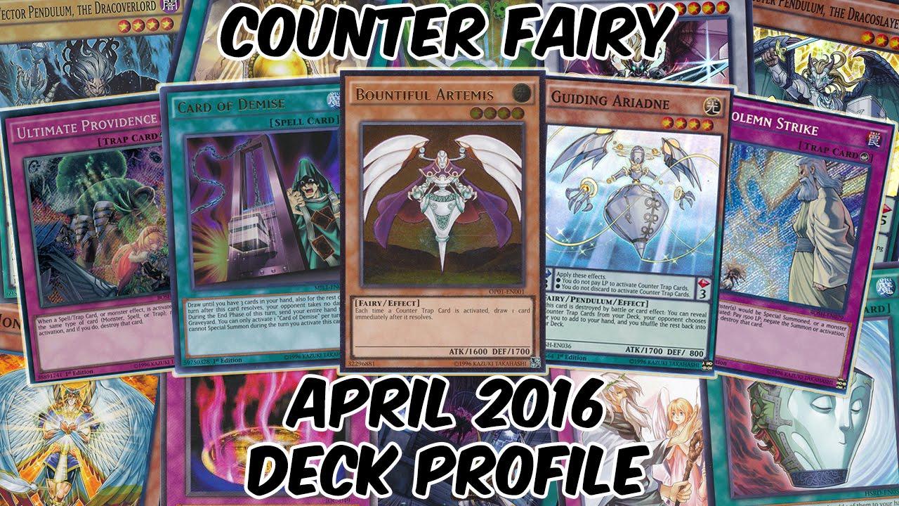 Counter Fairies Deck Profile - APRIL 2016 - OBJECTION!!!