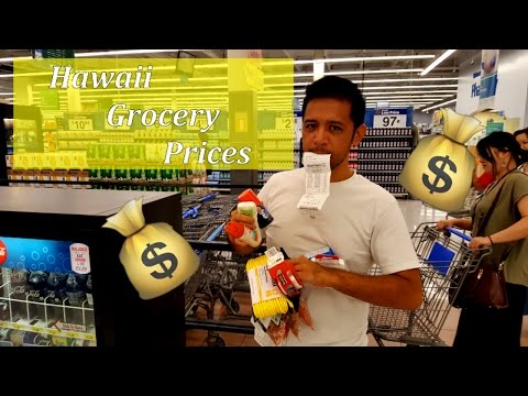 How Much do Groceries Cost in Hawai'i?