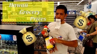 How Much do Groceries Cost in Hawai
