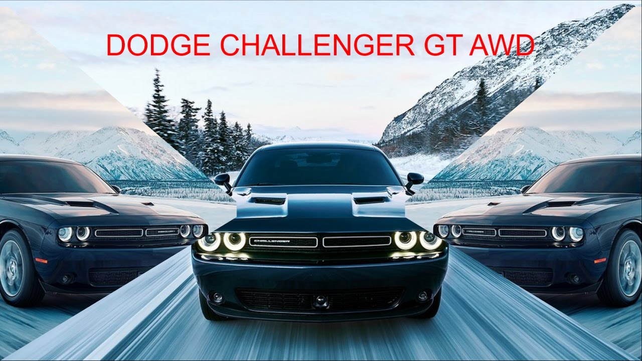 hot 2017 dodge challenger gt awd youtube. Black Bedroom Furniture Sets. Home Design Ideas