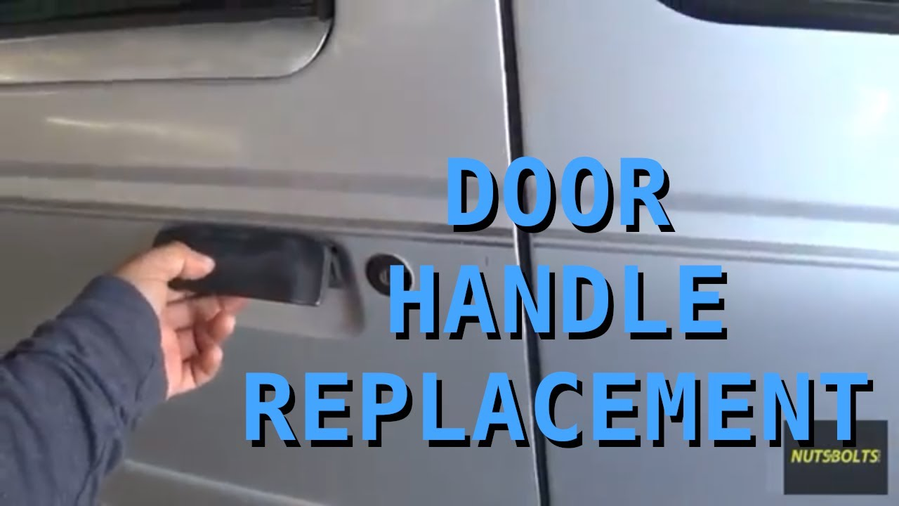 How To Replace An Exterior Door Handle Ford Ranger Youtube