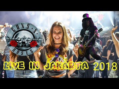 Guns N' Roses - Slash's Solo - NOVEMBER RAIN - Live in Jakarta 2018 Mp3