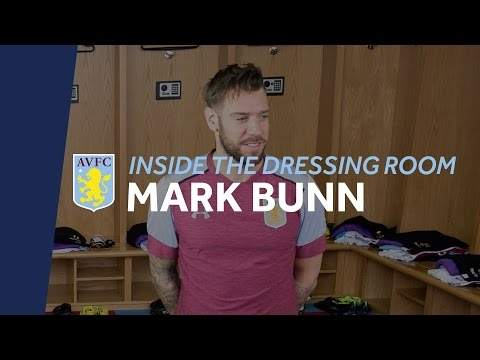 Inside the Dressing Room: Mark Bunn