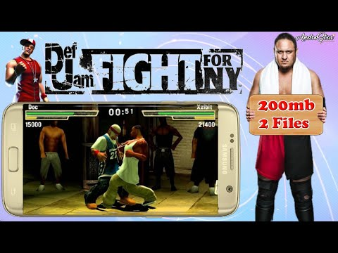 (200mb)Def Jam Fight For NY The Takeover Highly Compressed Download For PSP Android | Save Game