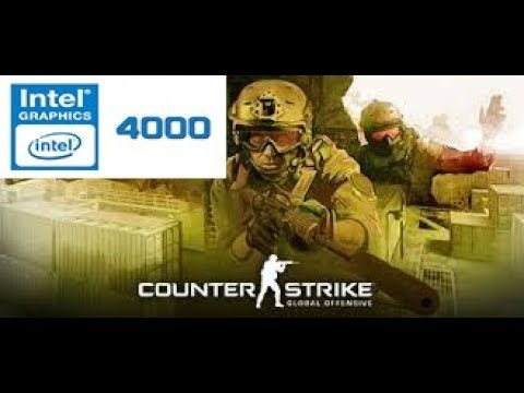 Counter Strike Global Offensive Gameplay On Intel HD 4000