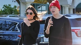 X17 EXCLUSIVE - Kendall Jenner Enjoys A Romantic Afternoon With Harry Hudson