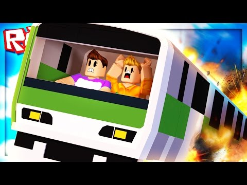 Roblox Adventures - FLYING TRAIN DISASTER!! (Flying Trains 2)