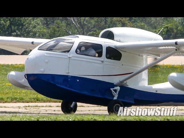 Busy Oshkosh Departures (Saturday Part 5) EAA AirVenture Oshkosh 2019