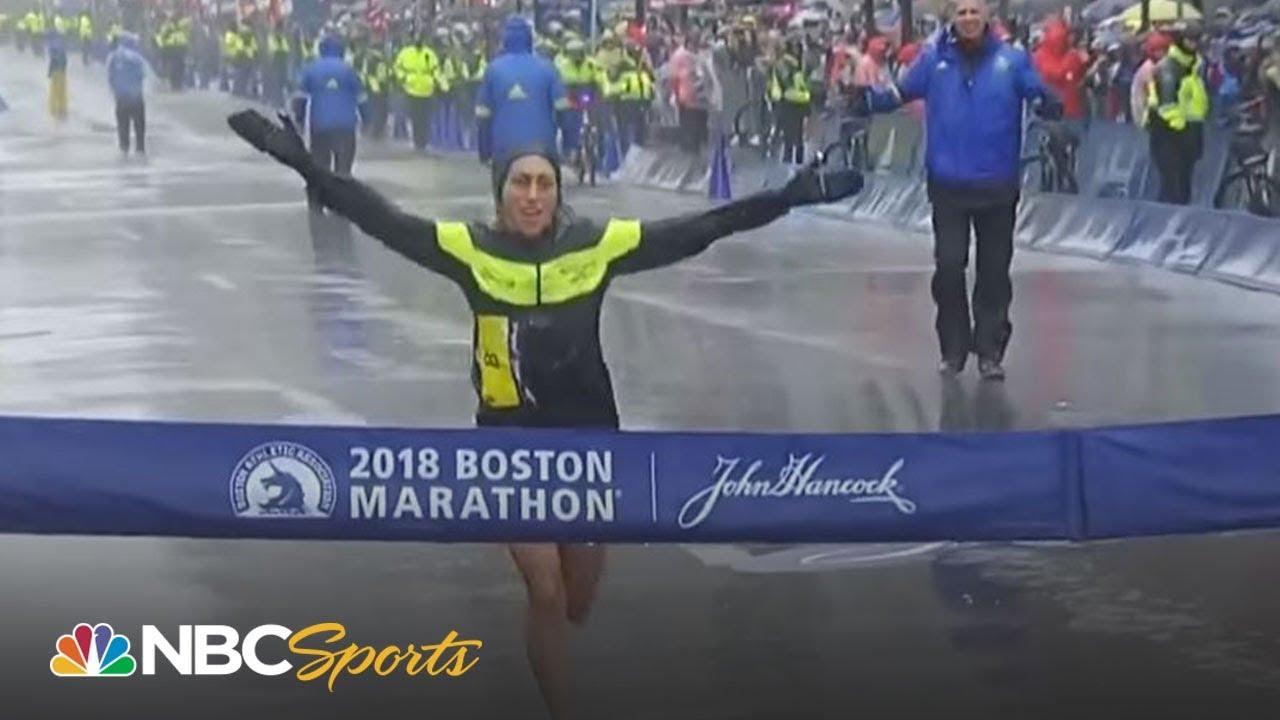2018 Boston Marathon: USA's Desi Linden wins women's race I NBC Sports