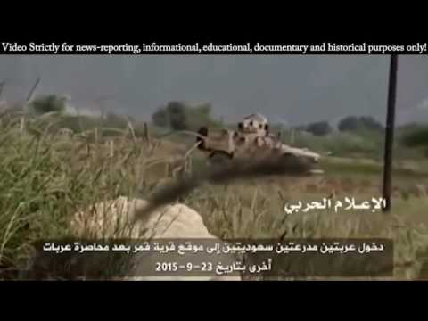 War | Yemen War - Houthi Fighters in Heavy Clashes Fighting Against Saudi Arabian Soldiers
