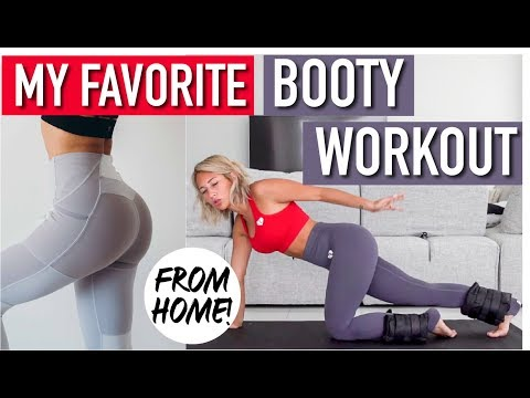 THE BEST BOOTY WORKOUT to grow your Glutes from HOME!