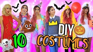 10 diy last minute halloween costumes!