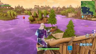 THE CUBE IS FORMING A VOLCANO RIGHT NOW AT LOOT LAKE! ORIGINAL 24/7 LOOT LAKE WATCH! Season 6 EVENT