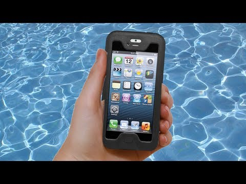 Seidio Obex iPhone 5 Waterproof Case Review - iPhone 5 Waterproof Test!