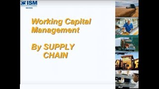 Working Capital improvement by SCM