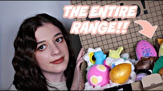 THE ENTIRE LUSH EASTER RANGE 2021 | UNBOXING & FIRST IMPRESSIONS • Melody Collis