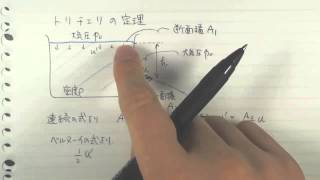 トリチェリの定理