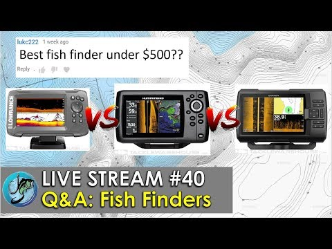Answering Fish Finder Questions Live!! | Fish The Moment Live Stream #40
