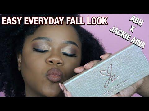 Quick Easy Fall GRWM Jackie Aina X ABH | LQLove thumbnail
