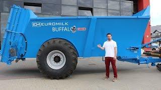 Rolnik Szuka Maszyny - Rozrzutnik Euromilk Buffalo RX1300