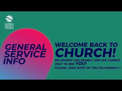 General Service Info For The 6th Of September 2020