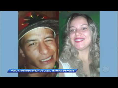 Mulher é morta queimada por marido que não aceitou o divórcio
