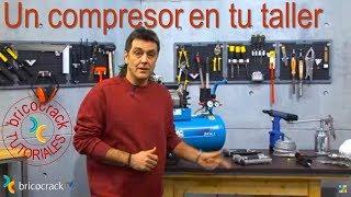 Aprovechar el compresor 1: trabajos en el taller (BricocrackTV)