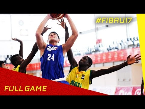Mali v Chinese Taipei - CL 13-16 - Full Game - FIBA U17 World Championship 2016