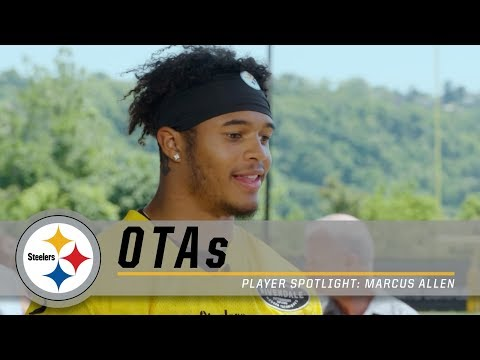 Steelers S Marcus Allen on life in Pittsburgh, learning from the veterans   OTAs