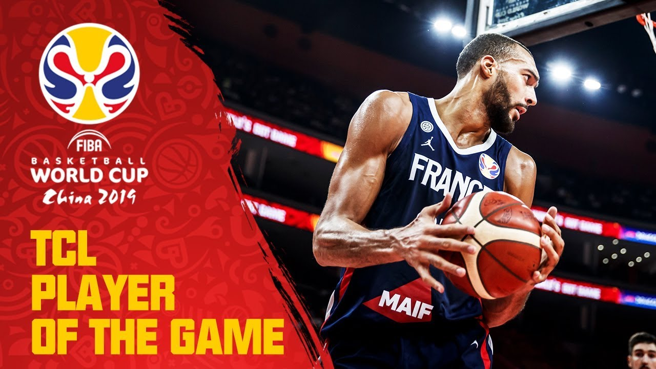 Rudy Gobert | USA v France | TCL Player of the Game