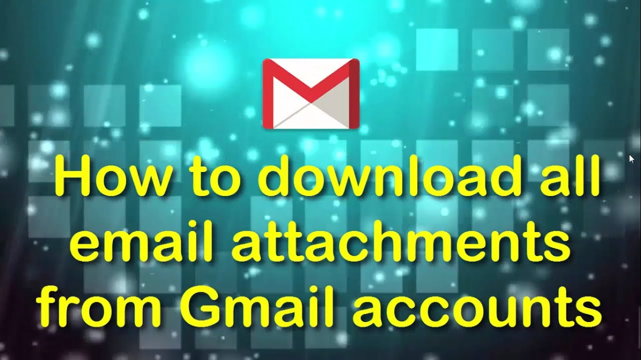 How to download all the email attachments from my gmail account how to download all the email attachments from my gmail account ccuart Images