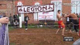 Киргизский борцуха против Ударника на Стрелке в Самаре!