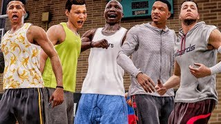 YOUTUBE ALL-STAR TEAM CHALLENGE @ DREW LEAGUE! NBA Live 18 The One Gameplay