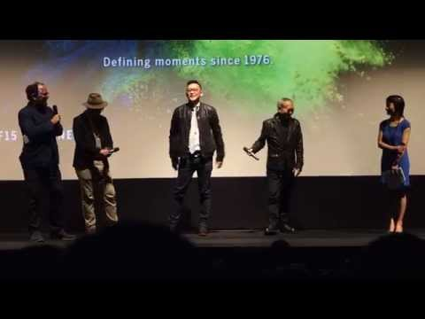 20150917 Soi Cheang & Paco Wong @ TIFF Opening Introduction - SPL 2: A Time For Consequences