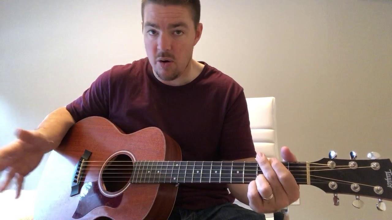 Sunrise Sunburn Sunset Luke Bryan Beginner Guitar Lesson Youtube