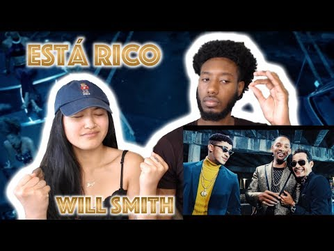 WILL SMITH, BAD BUNNY, MARC ANTHONY - ESTÁ RICO (OFFICIAL VIDEO) | REACTION