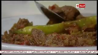 المطبخ مع الشيف أسماء مسلم | طريقة عمل بغاشة/ بوريه البطاطس بالخضار/ يخن كبدة 14-8-2018